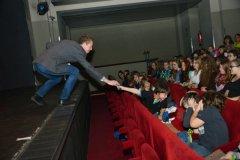Trapas nepřežiju! v Hybernii - představení uváděl Petr Lesák